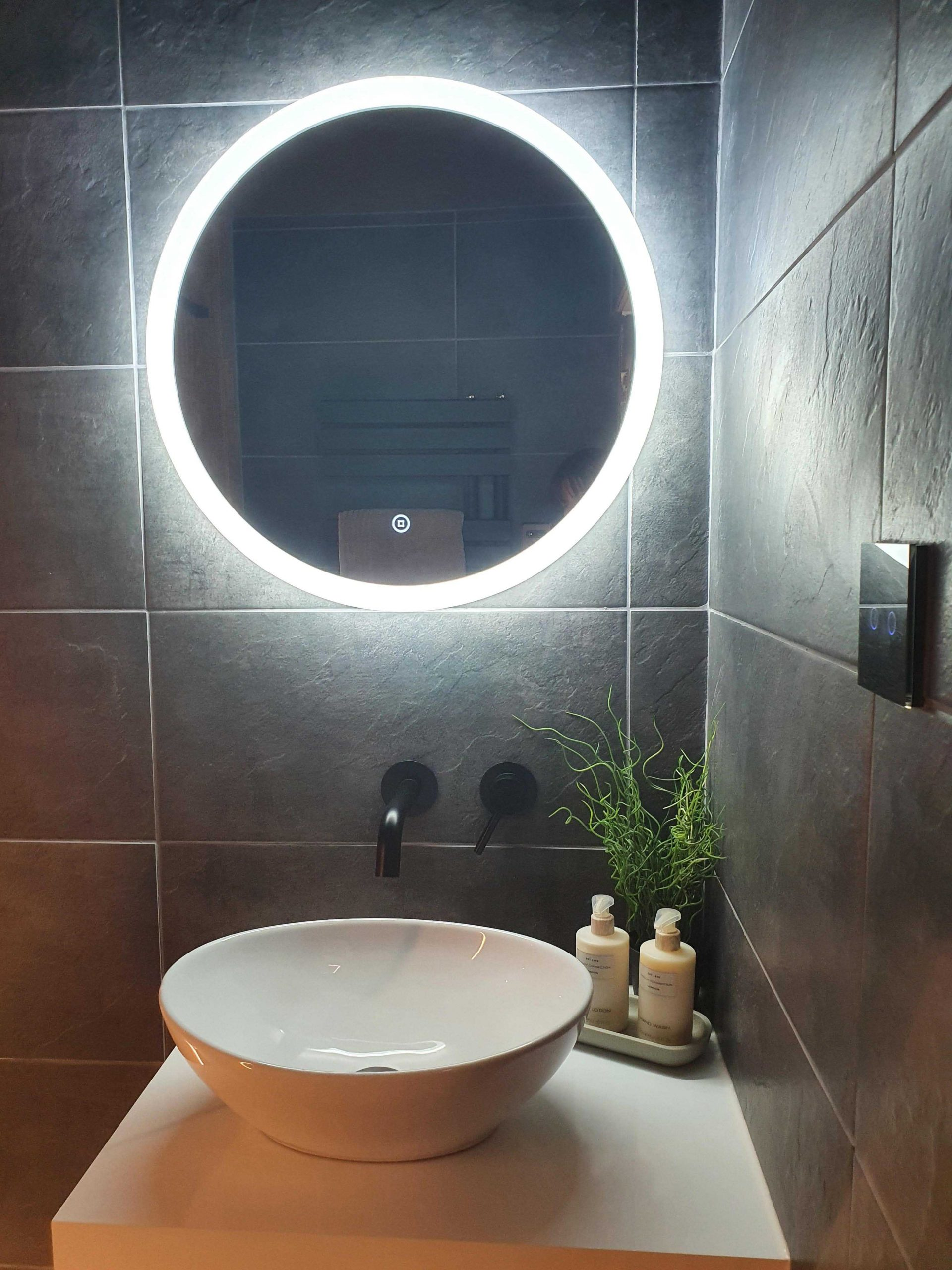 Fused Electrical | Commercial and Domestic Electrician Cheshire | Mirror Light