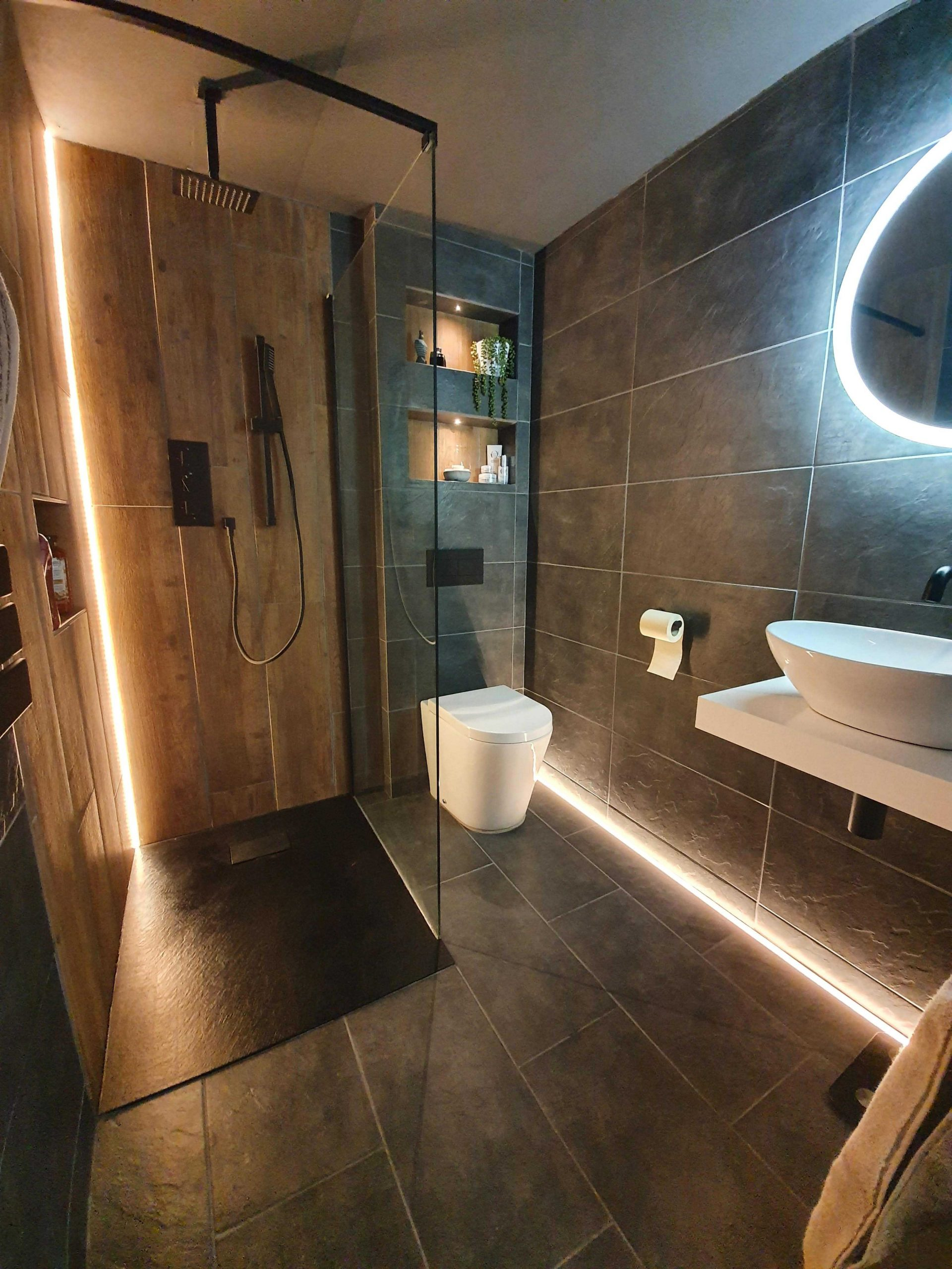 Fused Electrical | Commercial and Domestic Electrician Cheshire | Bathroom Lighting